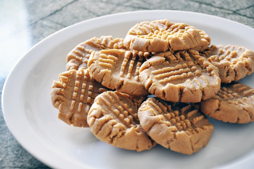 Peanut butter cookies vintage recipe