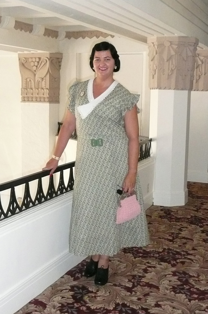 Queen Mary Art Deco Festival 1930s dress