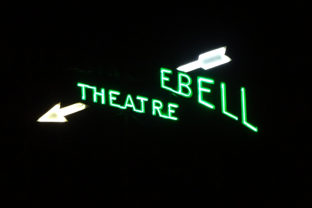 Ebell Theatre sign