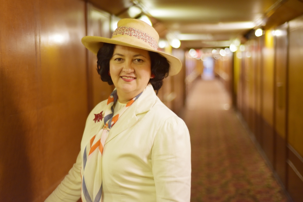 Queen Mary Art Deco Festival 2015 Lady by Choice